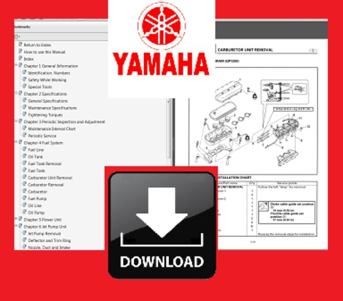 Product picture 97 98 99 2000 Yamaha GP760 GP1200 Personal Watercraft PWC Repair Service Professional Shop Manual DOWNLOAD